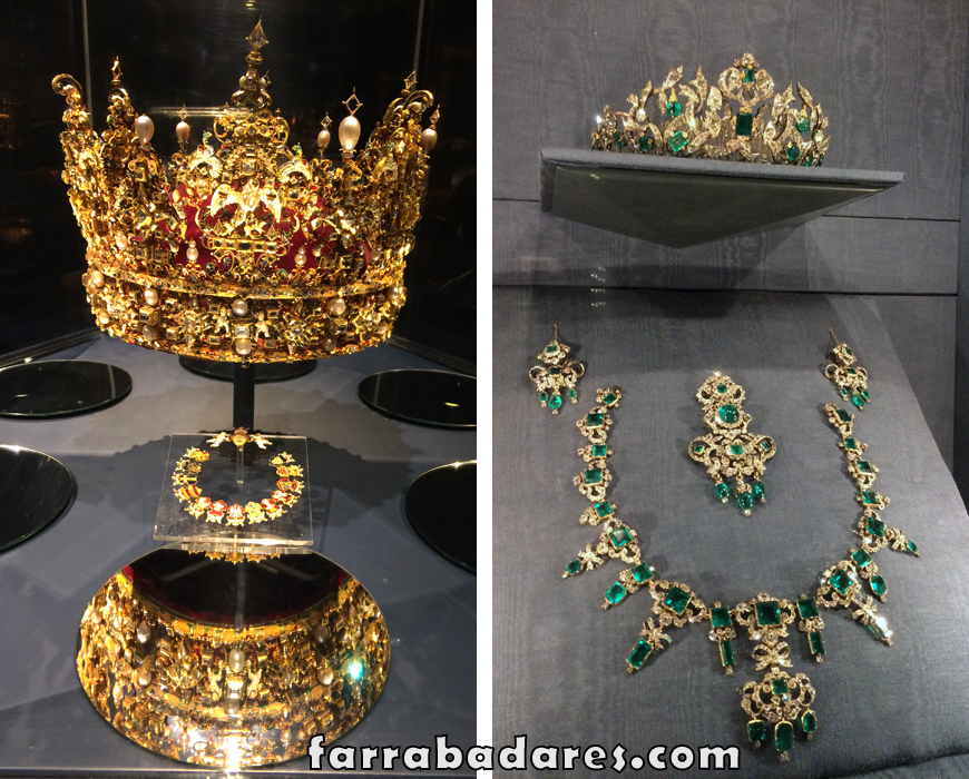 Copenhague - Castelo Rosenborg - Coroa de Christian IV