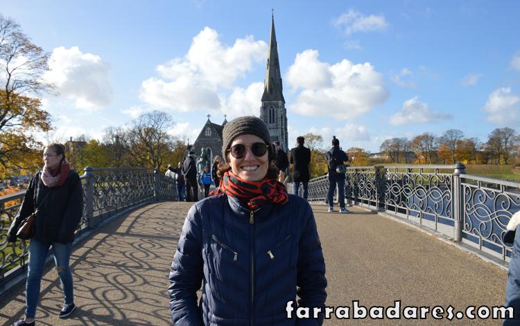 Copenhague - região de Kastellet