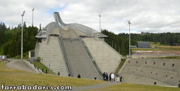 Oslo - Holmenkollen e sua pista de ski