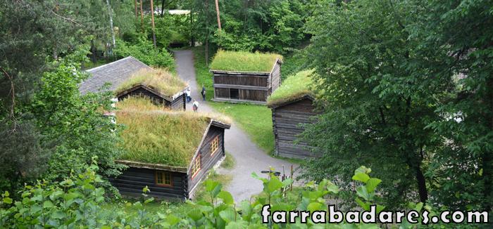 Oslo - Norsk Folkmueseum (museu folclórico da Noruega)