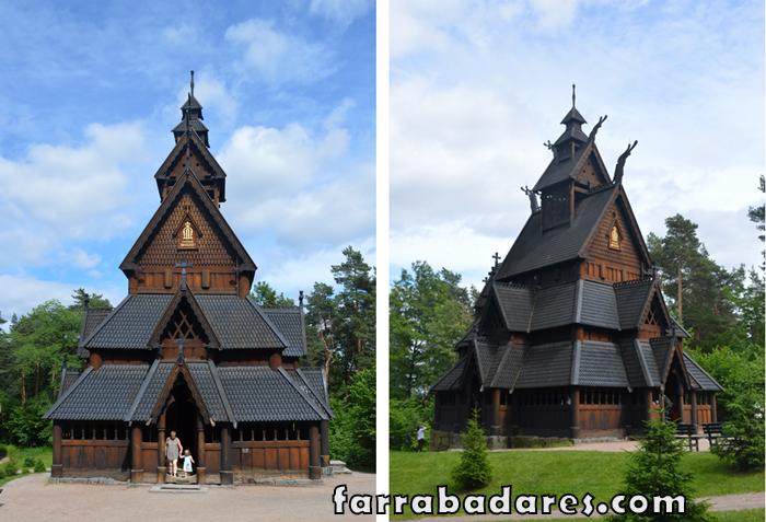 Oslo - Norsk Folksmuseum