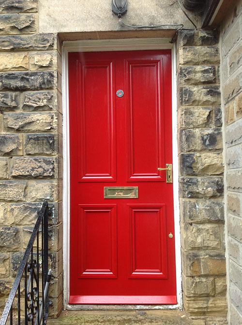 Wooden Front Doors Manufacturer Uk Based