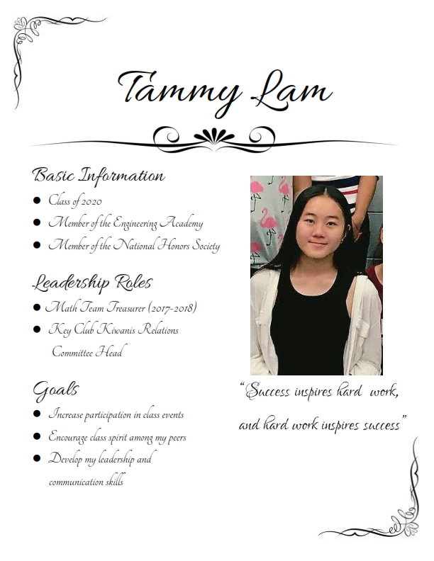 Tammy Data Sheet 001