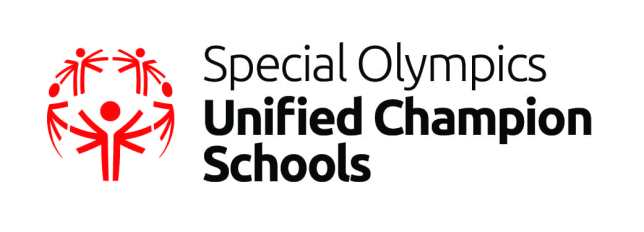 Unified Champion Schools Logo Red Black
