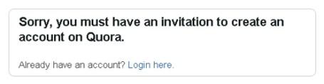 Quora invite