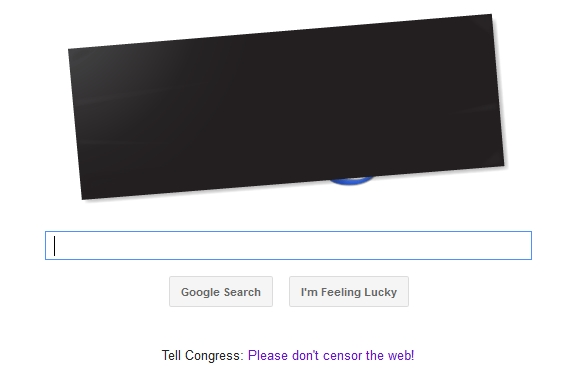 google stop sopa doodle