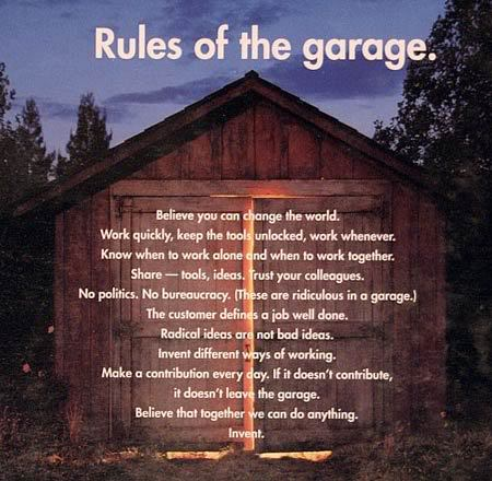 Hewlett-Packard (HP) Rules of the Garage, Invent campaign