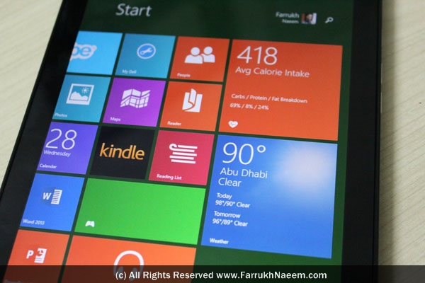 DELL Venue 8 Pro Review Dubai UAE 52