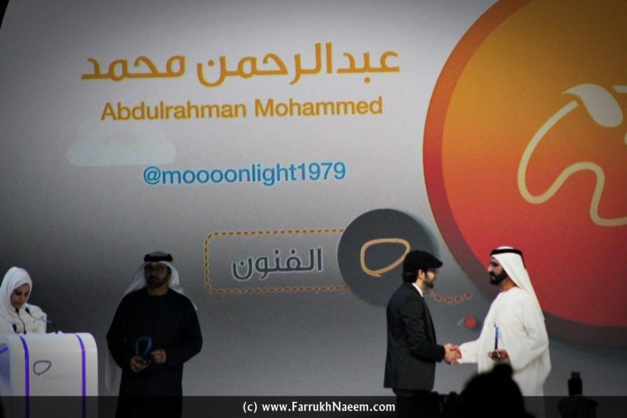 Arab Social Media Influencer Summit Award ArabSMIS Winner 2015