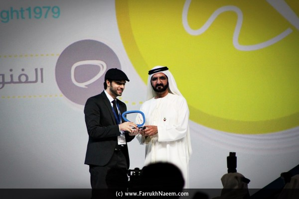 Arab Social Media Influencer Summit Award ArabSMIS Winner 2015