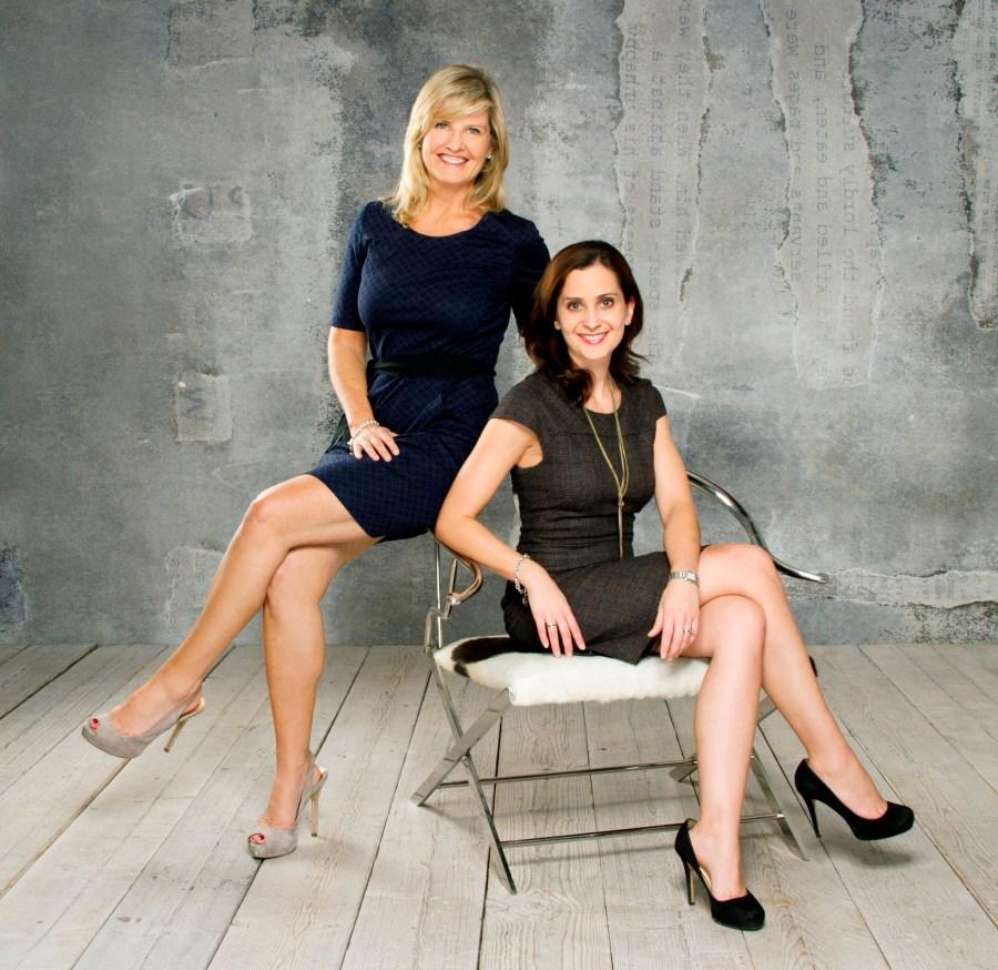 Mojo PR Co-founders - Tara Rogers and Louise Mezzina