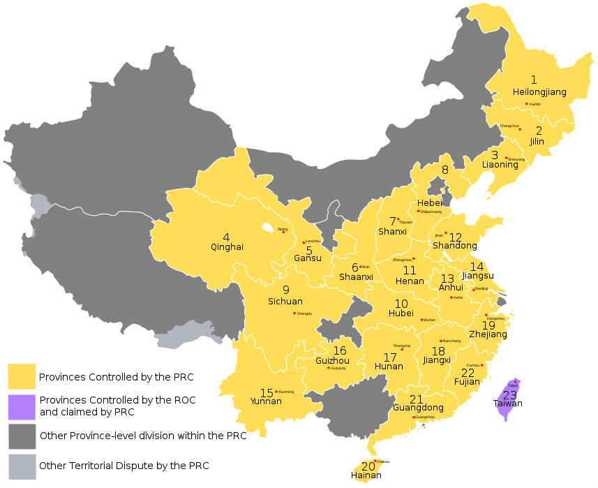 Exceptional What Is Chinau0027s Largest Province? Hereu0027s A Map To Show.