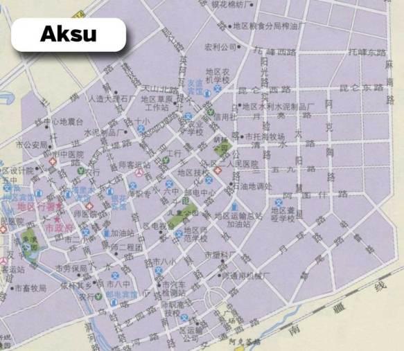 Aksu-Map