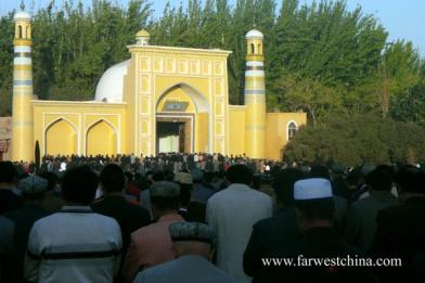 Kashgar's Id Kah Mosque today