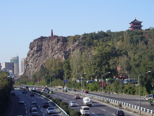 Urumqi's Hong Shan park in 2007