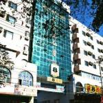 The Super 8 Hotel chain in Urumqi, Xinjiang