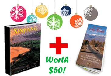 Win a free Silk Road travel guide & map!