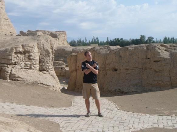 Paths along Turpan's Ancient City of Jiaohe (Xinjiang)