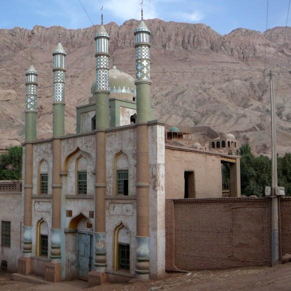 The Tuyoq Valley mosque near Turpan, Xinjiang