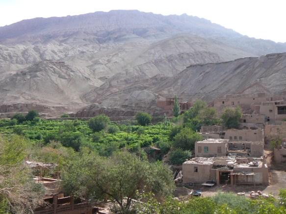 The Tuyoq Valley in Turpan, Xinjiang