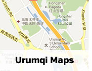 Click for maps of Urumqi