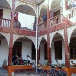 Courtyard at the Kashgar Old Town Youth Hostel in Xinjiang