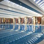 Swimming Pool at the Urumqi Sheraton Hotel in Xinjiang, China