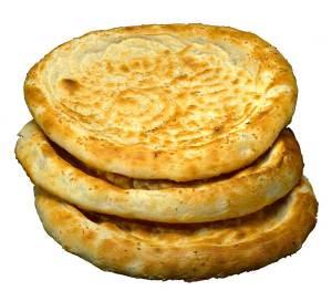 Uyghur bread stack