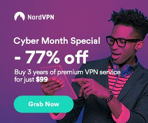 Special Black Friday deal on NordVPN