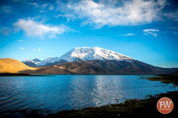Karakul Lake in Xinjiang, China