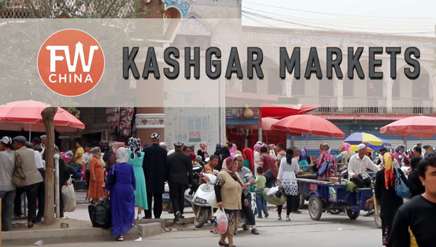 The wonderful Kashgar Sunday Bazaar