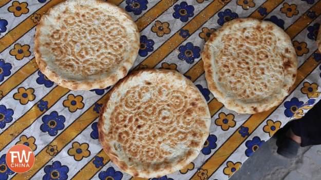 Uyghur sesame flatbread