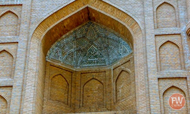 Grand Kuqa Mosque is worth visiting when traveling to Kuqa