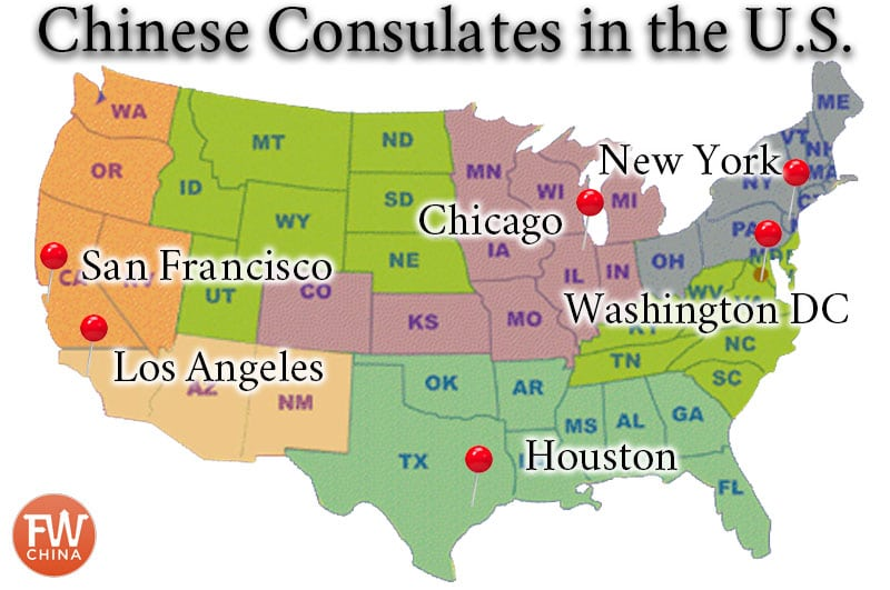 China And Us Map.Best China Visa Service For U S Citizens Plus A Discount Code