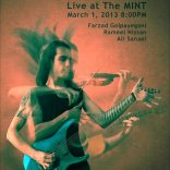 Farzad G-band / March 2013 / Mint