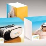 VR box design / Genius Plaza package