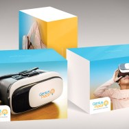 VR box design / Genius Plaza package