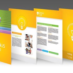 Genius Club brochure