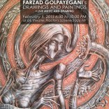 An Exhibition of Farzad Golpayegani's Drawing and Painting