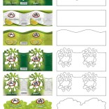 1&1 lime juice label design