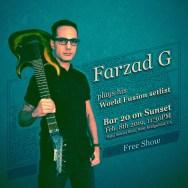 Farzad G at Bar 20 on Sunset Feb 8, 2019