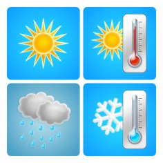 Weather / illustration for Genius Plaza image bank