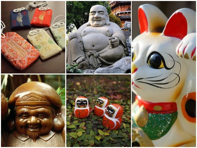 les porte bonheurs au japon fascinant