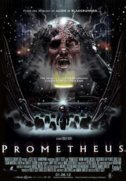 فيلم Prometheus 2012 مترجم