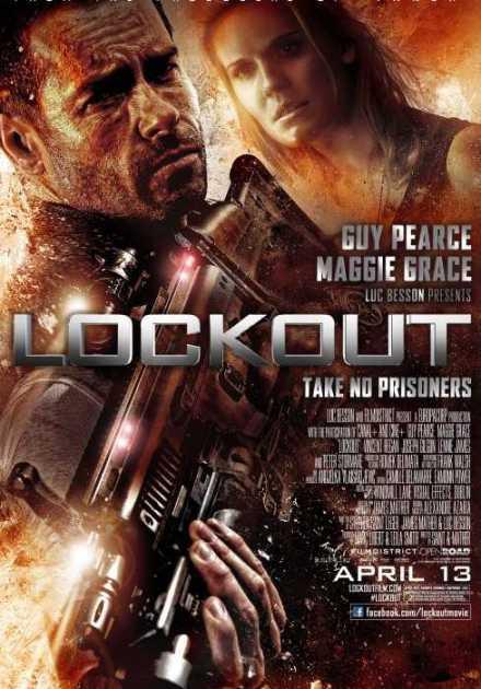 فيلم Lockout 2012 مترجم