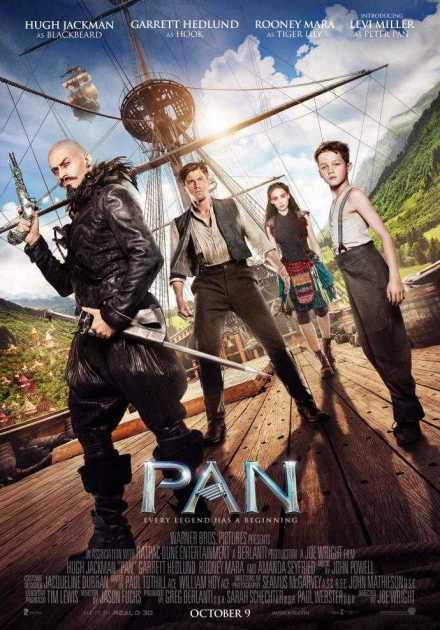 فيلم Pan 2015 مترجم