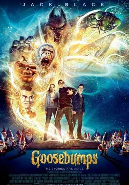 فيلم Goosebumps 2015 مترجم
