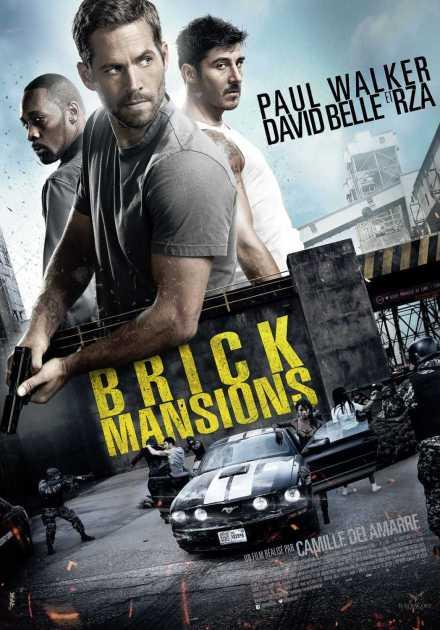 فيلم Brick Mansions 2014 مترجم