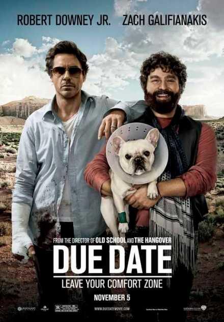 فيلم Due Date 2010 مترجم