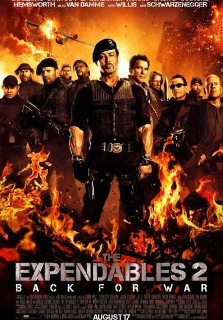 فيلم The Expendables 2 2012 مترجم